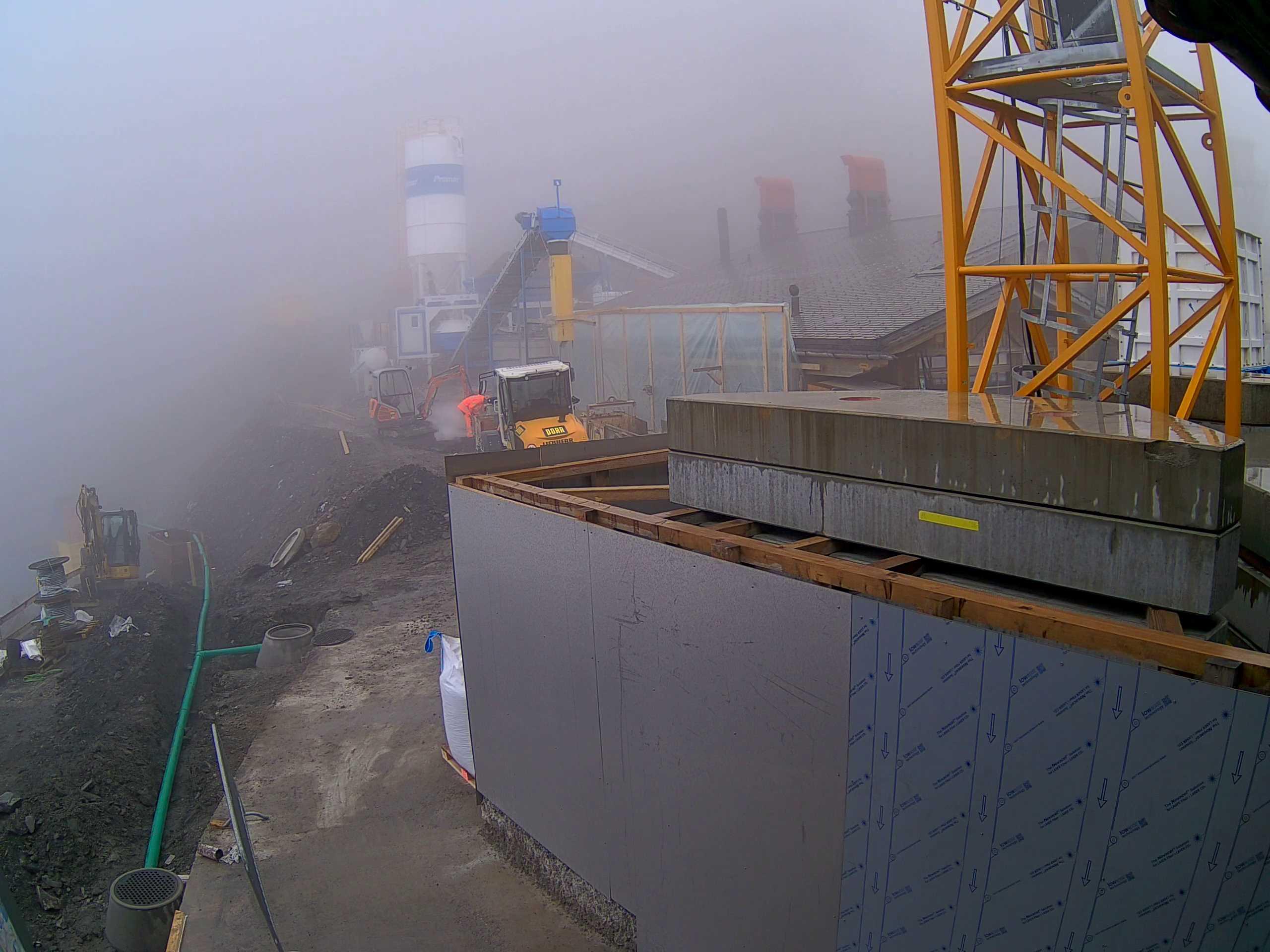 Skihütte Stand