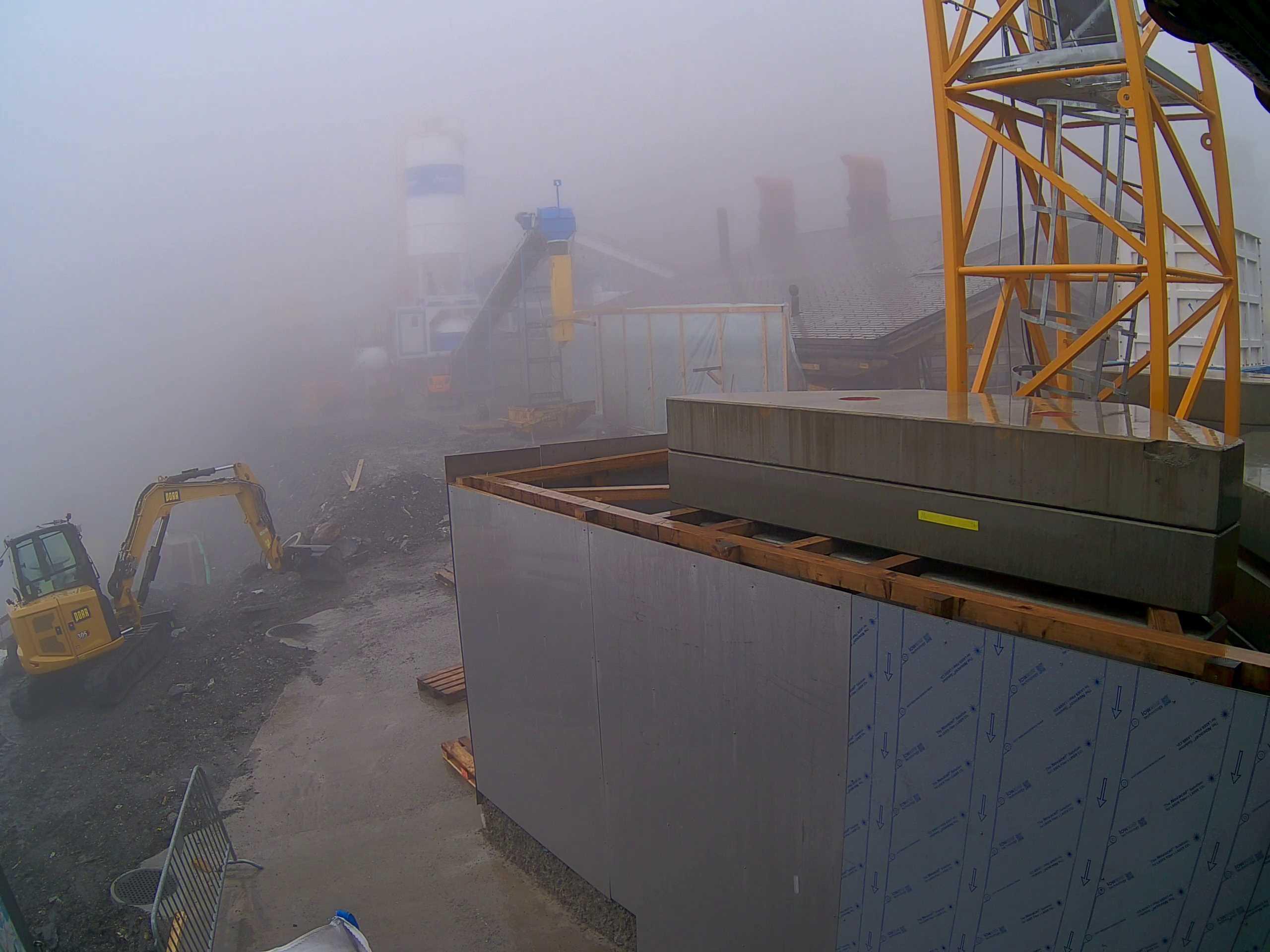 Engelberg webcam - Skihütte