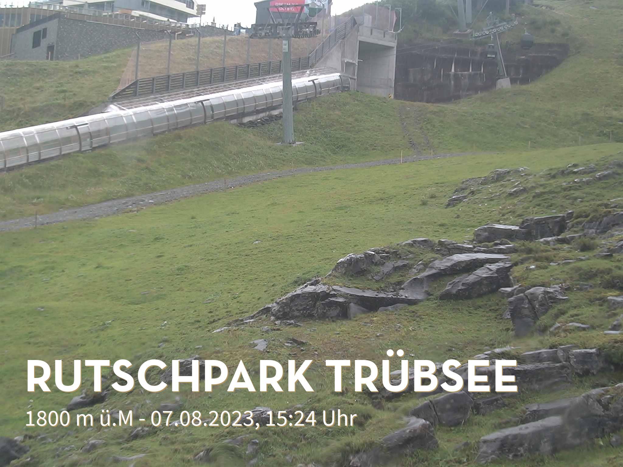 Engelberg webcam - Truebsee Rutschpark