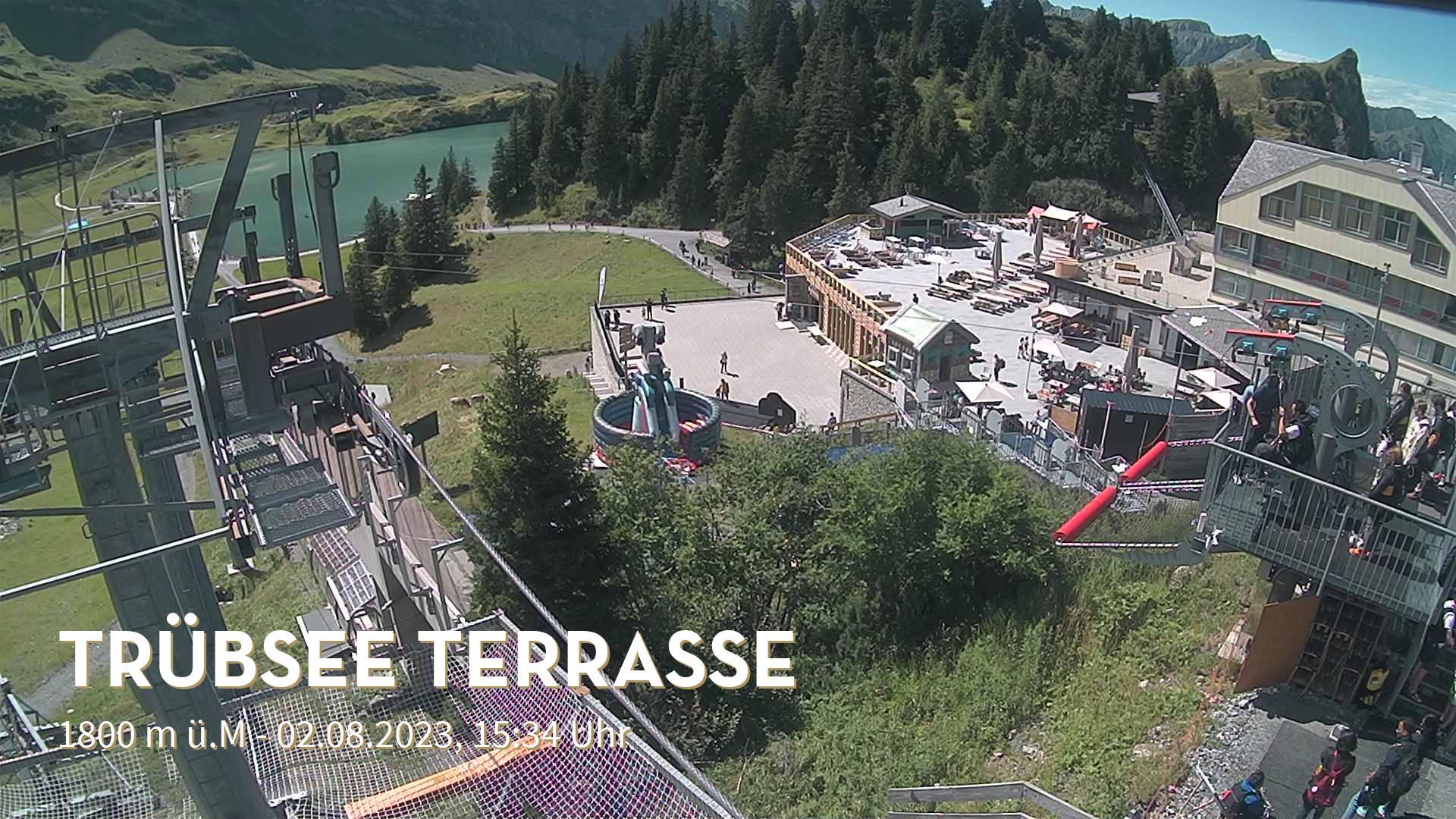 Engelberg webcam - Truebsee Talva ski station