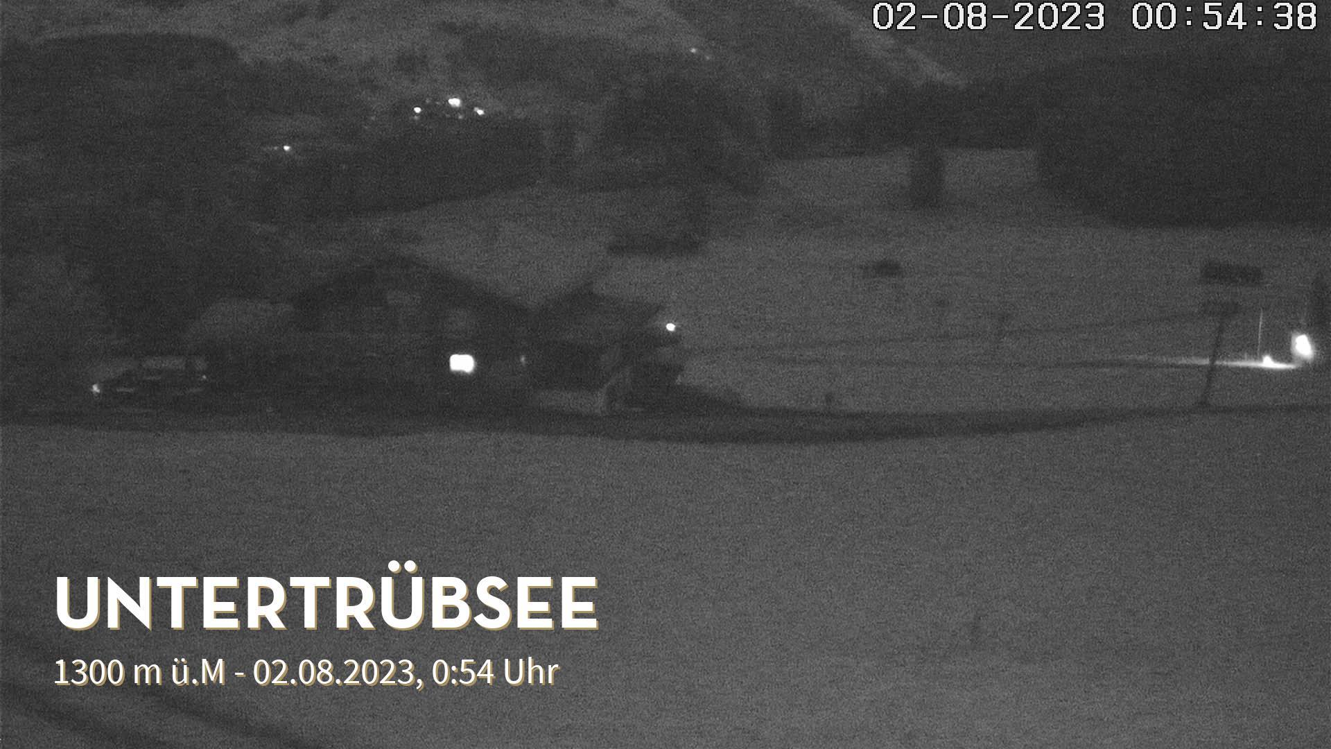 Engelberg webcam - Untertruebsee