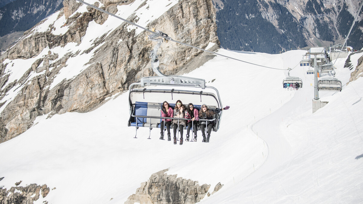 9908fa9d90 ice flyer, glacier, rotair, cliff walk, TITLIS Engelberg
