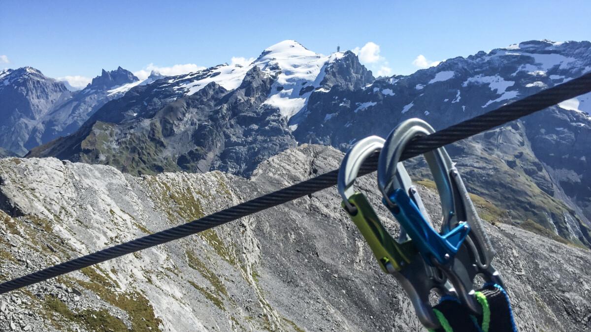Klettersteig Engelberg : Klettersteig graustock klettern herausforderung titlis engelbrg