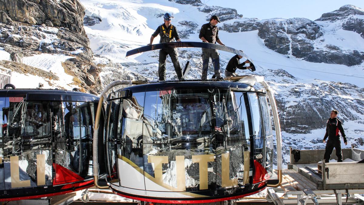 Klettersteig Jochpass : Projekte titlis sesselbahn engstlenalp jochpass