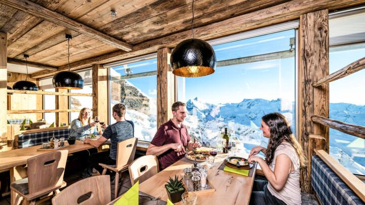 Gastronomie Restaurants Mittagessen Skifahren Titlis Engelberg